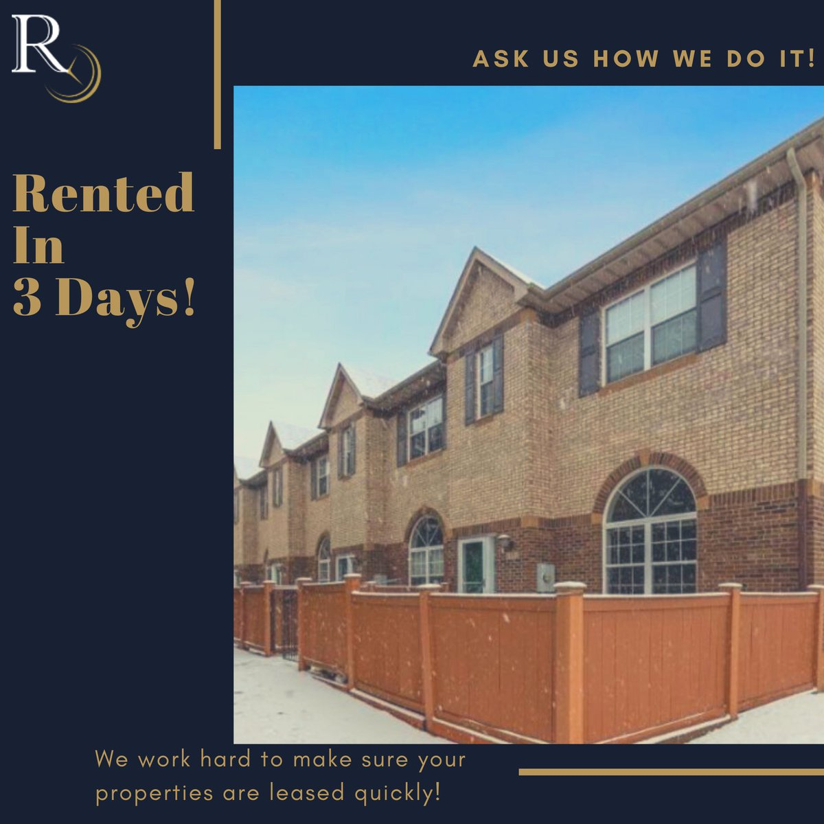 Rented in THREE days!  Yes, our phenomenal team & leasing process did that! Give us a call today to find out more about our property management services.  http://www.minneapolispropertymanagement.com  #PropertyManagement #PropertyManager #MinneapolisPropertyManagement #MinneapolisPropertyManagerpic.twitter.com/xMCIiS0PGh