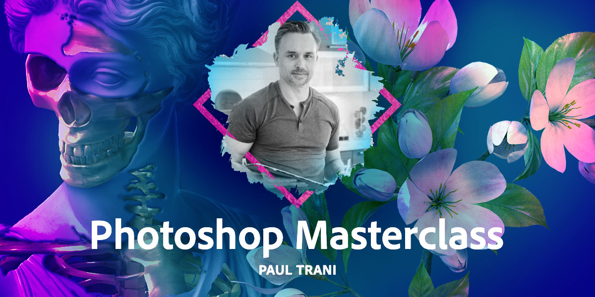 Learn how to use Photoshop on iPad in this #PhotoshopMasterclass with @paultrani LIVE NOW on @Behance!   Join in on the fun: https://adobe.ly/2HFR4Mx