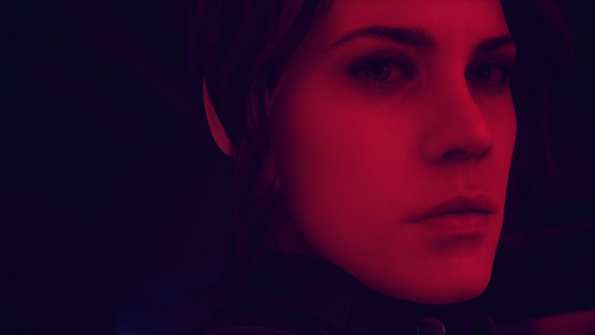 """So @DrewMTaylor is busy aceing in finding new ways to use the #ControlRemedy photomode..  ..while I'm just here like.. """"Oh, hello there gorgeous😍""""  #PhotomodelJesse #VirtualPhotography"""