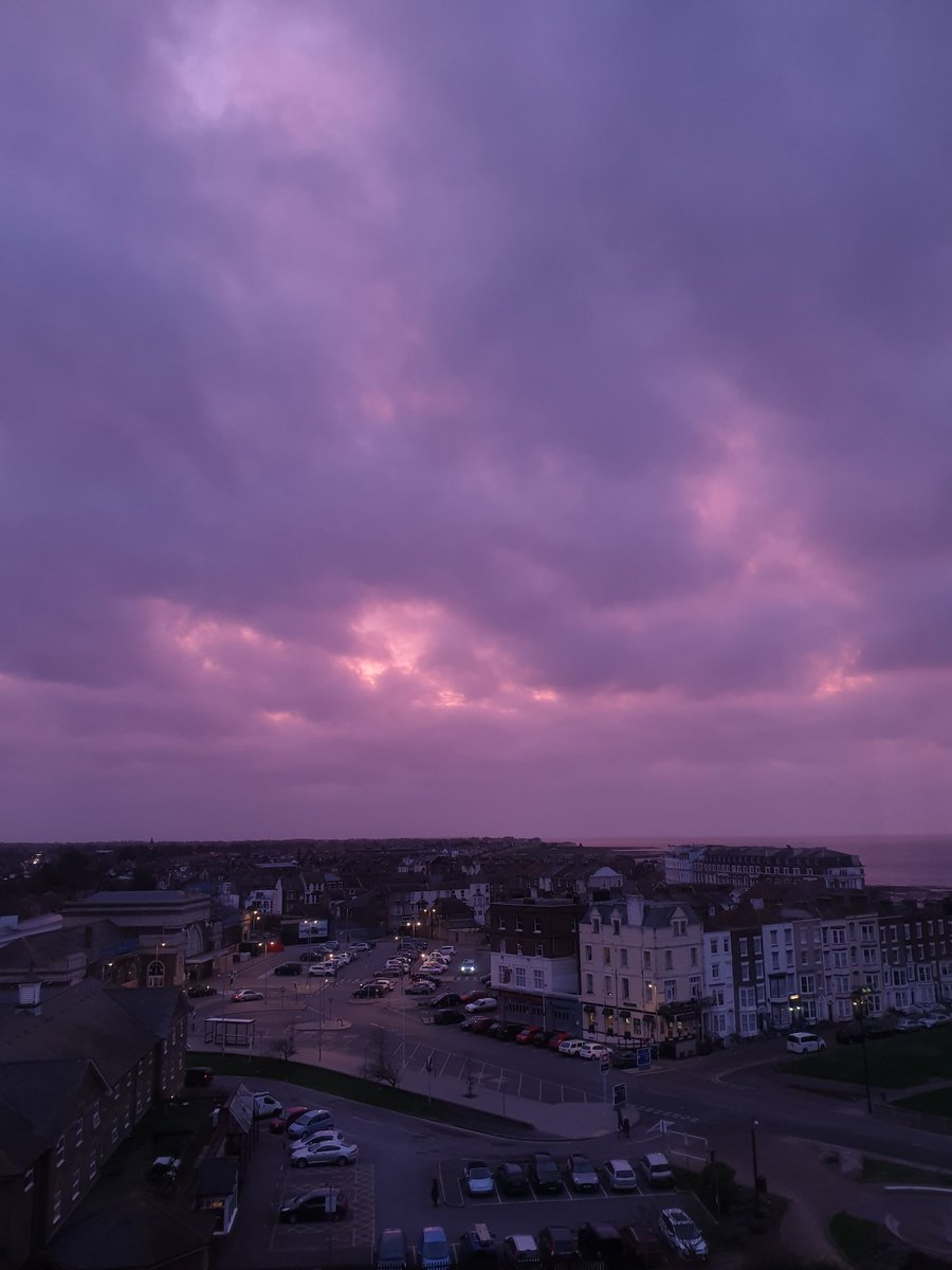 It's all gone pink, now. #margate #thinkpink
