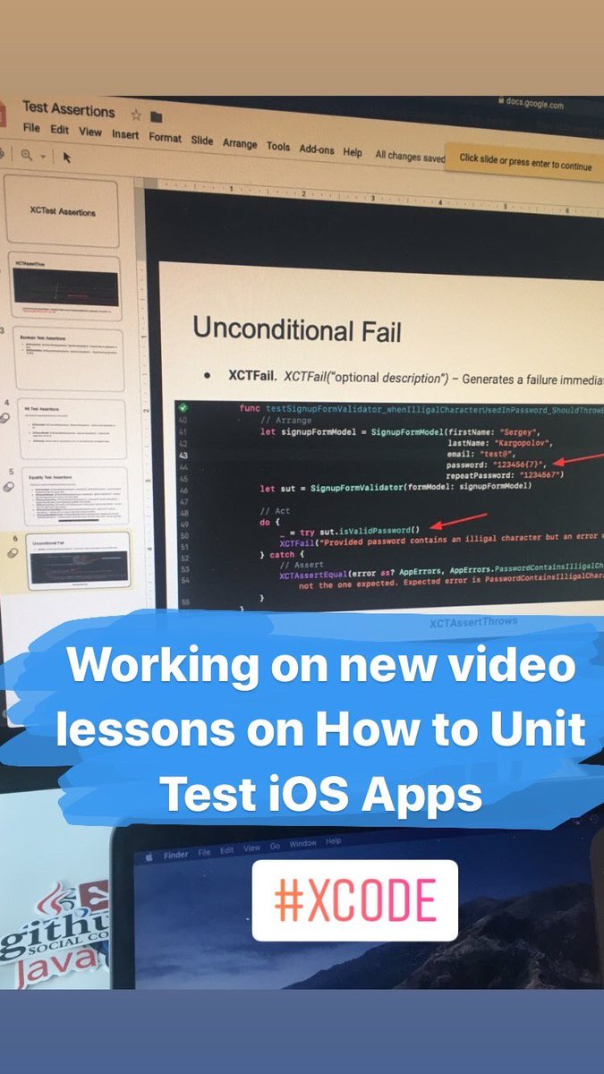 Working on new video lessons on How to Test iOS Apps  #xcode #iosdeveloper <br>http://pic.twitter.com/ze0uI81h7D