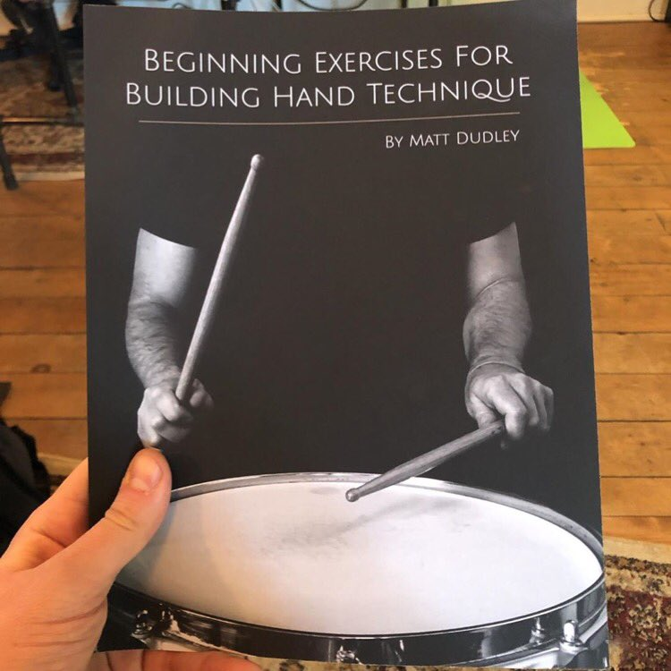This one found it's new home in Michigan with my good friend Mike! Thanks again buddy for not only the support but also the friendship   Repost from @muxmike • proud of @mattdudleydrumming for putting out a method book! had to snag a copy #drumfam pic.twitter.com/ZxjeNEj4AE