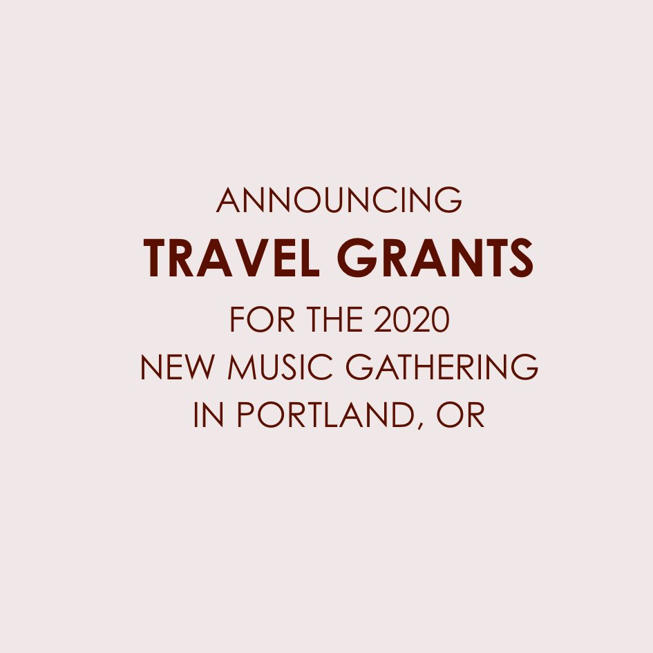 We're offering a small group of Travel Grants starting this year! Grants are intended for 1st time attendees who are truly in need of this help, would most likely benefit from attending & would otherwise face geographical and financial hardships. Due 3/16! https://tinyurl.com/uxcddvb