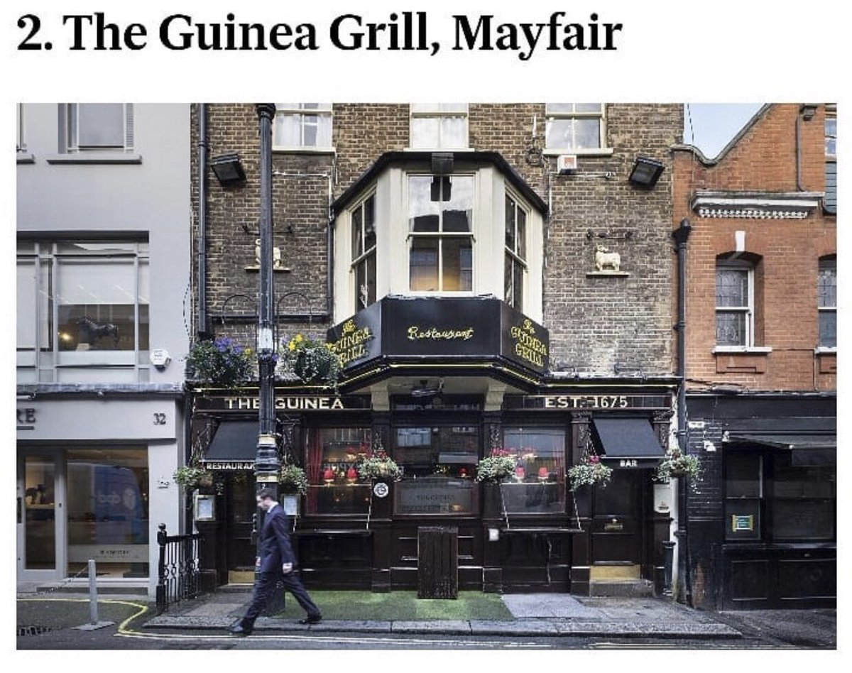 A huge congratulations to the @LambWC1 @TheAlexSW19 @GuineaGrill and @OldShipW6 for featuring in the @standardnews top 50 London pubs 🍺 Now that definitely deserves a toast! > https://t.co/RVuiE6jyXQ https://t.co/1AxzQPl3J3