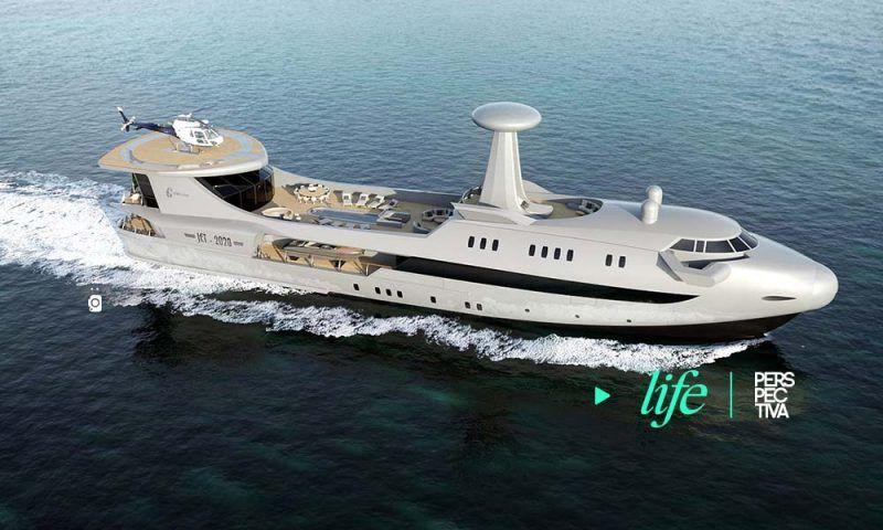 #Life Codecasa Jet 2020, el avión que surcará los mares https://buff.ly/2wqBUbx  #CodecasaJet2020 #jet #yateavión #lifestyle #perspectivagt