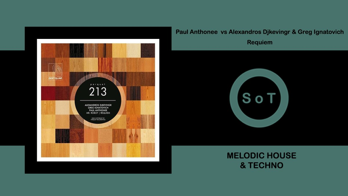 Paul Anthonee vs. Alexandros Djkevingr & Greg Ignatovich - Requiem [Parquet Recordings]  Listen it on YouTube ☞ https://youtu.be/7qIuSq2dqQE   #paulanthonee #alexandrosdjkevingr #gregignatovich #requiem #parquetrecordings #beatport #melodic #house #techno #melodichouse #melodictechnopic.twitter.com/S07X6z8gqL