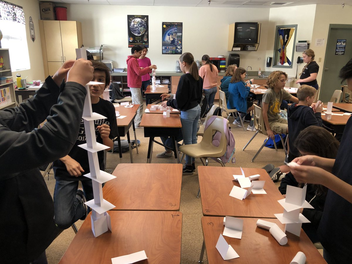 "A 5 minute ""STEAM"" project! It got the blood pumping! #WeAreCrane #WhyCrane #MesquiteRocks<br>http://pic.twitter.com/7YxBYKp9qs"
