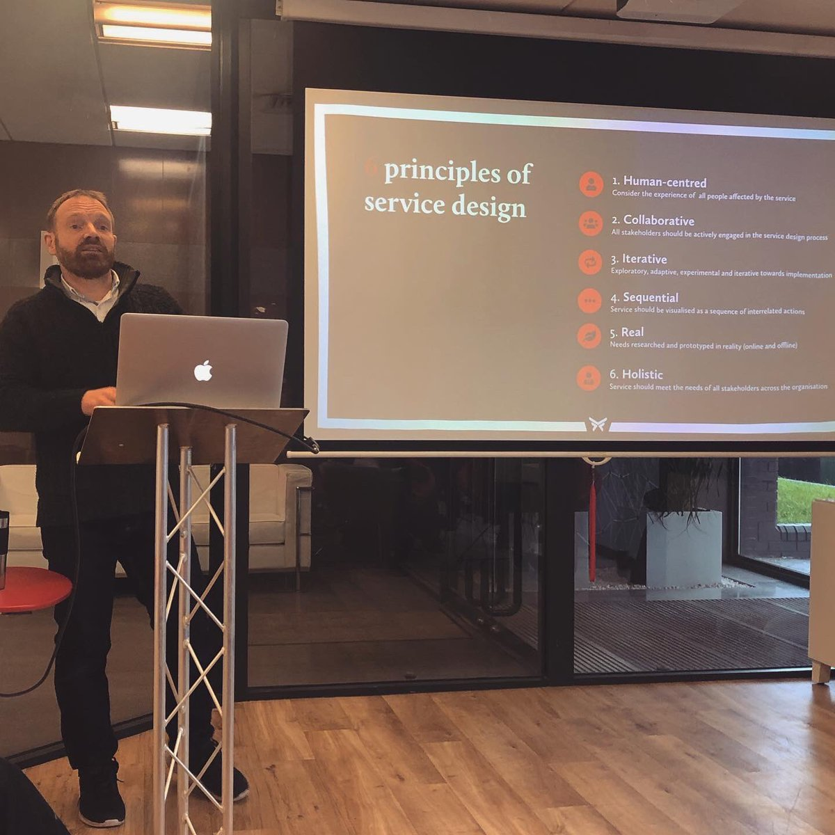 In our agency meeting, our UX Director @Webbutlers spoke about all things Service Design, while our digital marketers Sean & Chris explained how they help clients get the most out of #Facebook advertising.