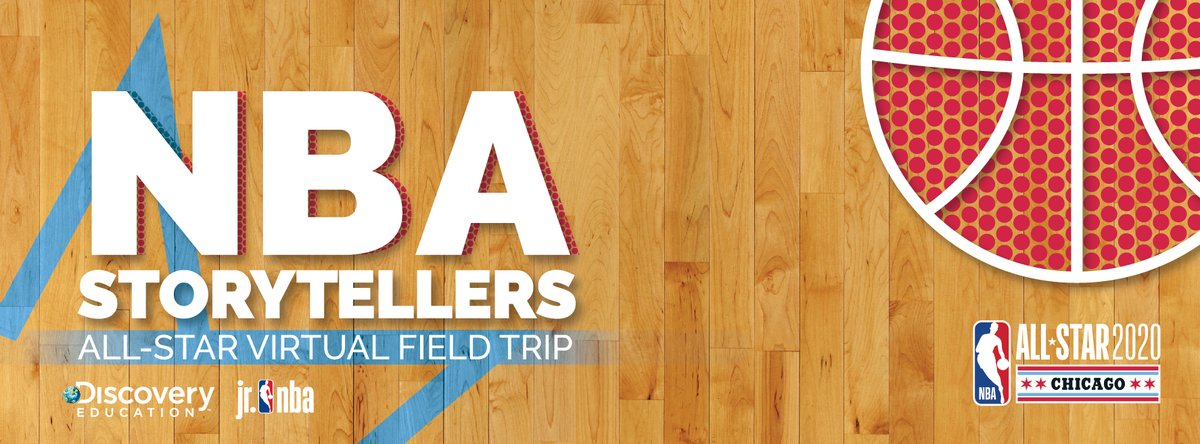 Join @chicagobulls guard, @RyArch15 for an exclusive @NBAallstar Virtual Field Trip with @discoveryed to explore exciting career pathways related to pro basketball + learn how the art of storytelling plays an important role in these careers. Watch it here! http://bit.ly/NBADE2020
