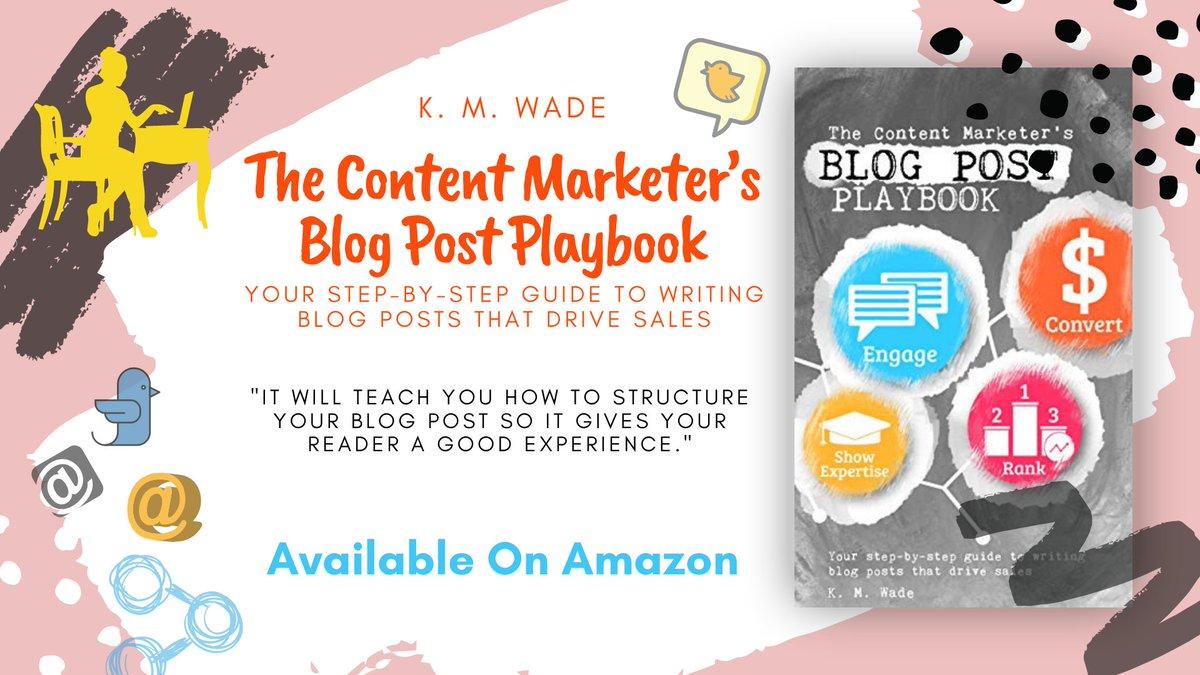 Lists and illuminates the key elements of story selling success. https://books2read.com/b/BlogPostPlaybook… #K.M.Wade