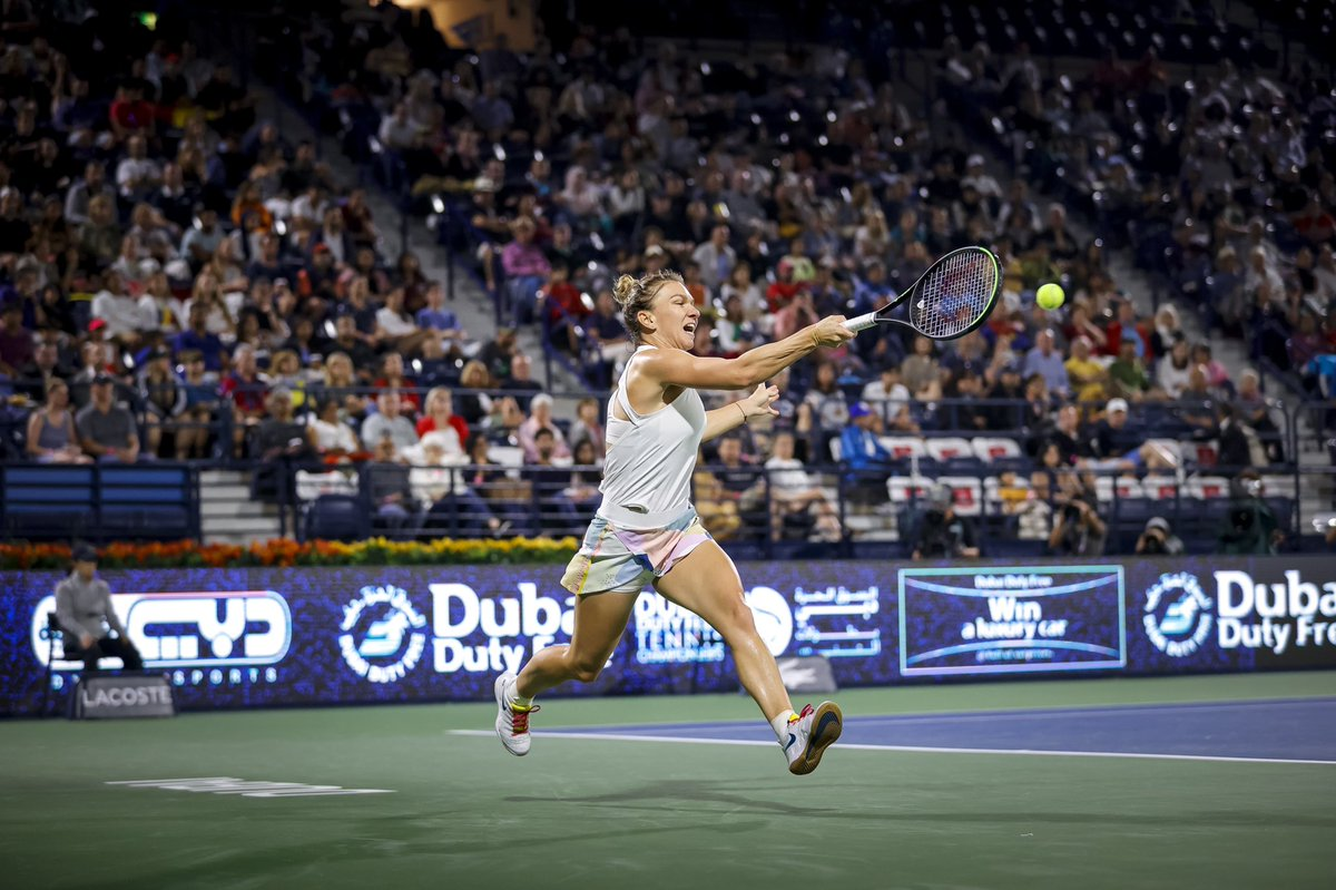 Replying to @Simona_Halep: It's always a privilege to play the last match of a tournament.  Haideeeeee ❤️💪  @DDFTennis