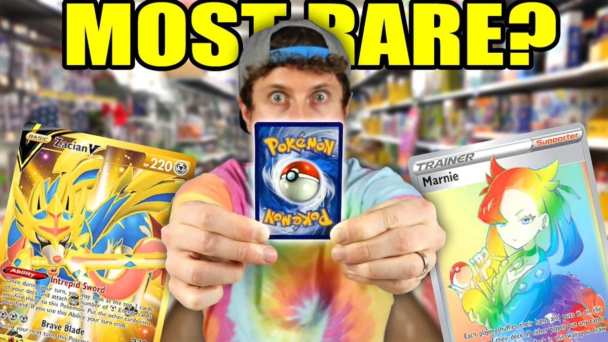 Officially Searching For The Most Rare Pokemon Cards In Sword and Shield! youtube.com/watch?v=M_X_i-…
