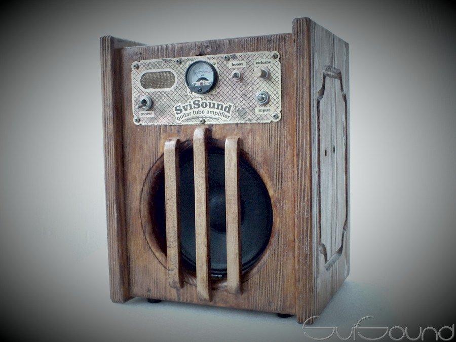 #guitar mini combo #amplifier #steampunk #Retro style