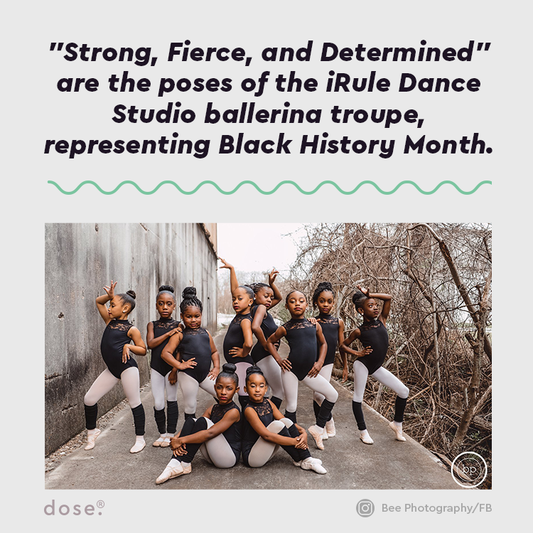 """""""Strong, fierce, and determined,"""" is what this troupe is projecting, proudly.    (via Bee Photography and iRule Dance Studio)"""