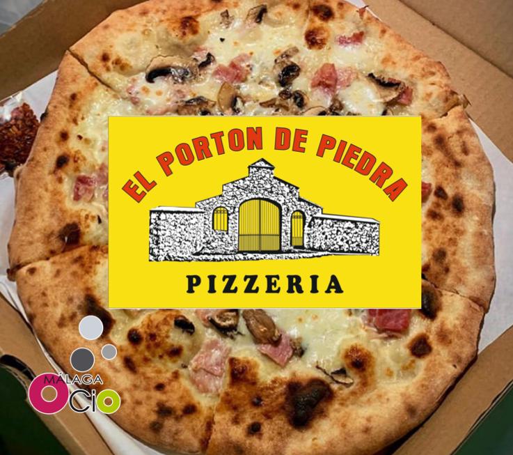 Hay pizzas que sólo con verlas, ya las reconoces por su olor, tienen una textura que...mmm…te dejarán con la boca abierta. 😜 #CcMálagaOcio #ElPortondePiedra #Pizzas #Restaurantes #Malaga
