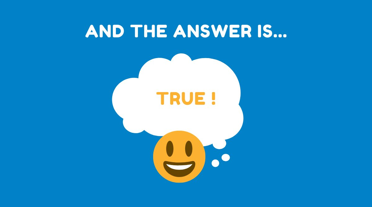 And the answer is... TRUE! Accurate Census data helps first responders during an emergency. Learn more at