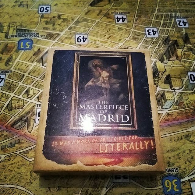 We played played the masterpiece of Madrid case in detective city of angels the other week and it was such a good case I still think about it. I was so amped up after I. So good.  #boardgames #tabletopgames #boardgamesofinstagram #boardgaming #detective … https://ift.tt/2v8LyiT pic.twitter.com/qVBwrqXGNn