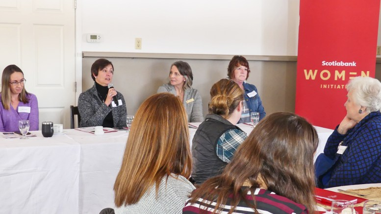 .@ScotiabankViews held a Women in Agriculture networking lunch in Winchester. Local women in agriculture were invited to enjoy the company of others and learn about the struggles and successes of other women in the business. http://bit.ly/2SKtzYW via @nationvalleynwspic.twitter.com/ltbCUEzJI8