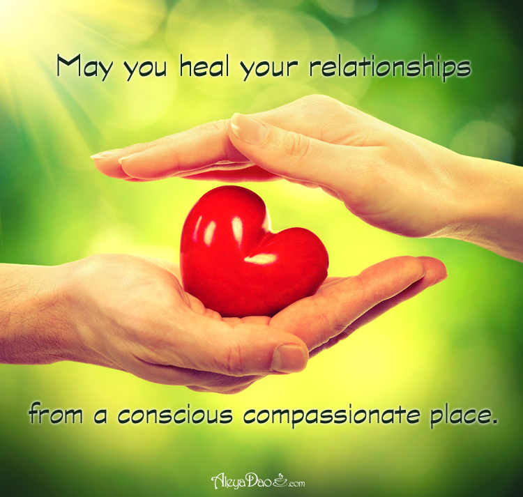 Energetic Weather Advisory Quote for the day: May you heal your relationships from a conscious compassionate place.http://www.aleyadao.com/energy-healing/daily-meditation.php …Sign up for a free week of meditations http://www.CupsOfConsciousness.com #meditation #quote #tranquility #PositiveQuotes #healing #spiritual