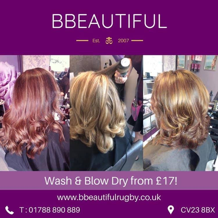 Going out this weekend? Why not treat yourself to a bouncy blow dry for just £17!  #rugbytown #rugbytowncentre #supportlocal #supportlocalbusinesses #hair #nails #blowdry #salon #beautysalonrugby #hairdressersrugby #hairdressers pic.twitter.com/IKwJyFRkYj