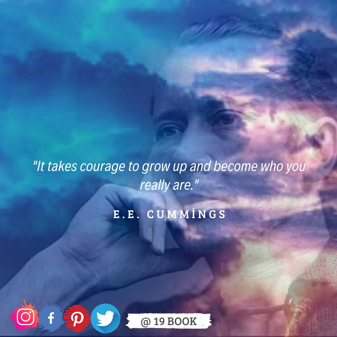 """It takes courage to grow up and become who you really are."" — E.E. Cummings - @19bookk  . . #love  #me #cute #tbt #photooftheday #iphonesia #tweegram #picoftheday #igers #girl #beautiful #instadaily #summer #iphoneonly #follow #igdaily #bestoftheday #happy #picstitch #tagblender"