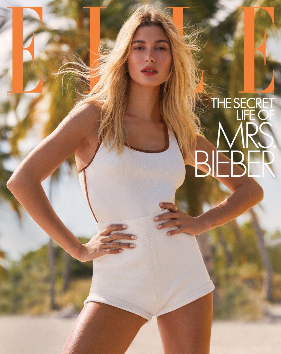 Replying to @PopCrave: .@HaileyBieber looks stunning for @ELLEMagazine. (📸: Zoey Grossman) 1/2