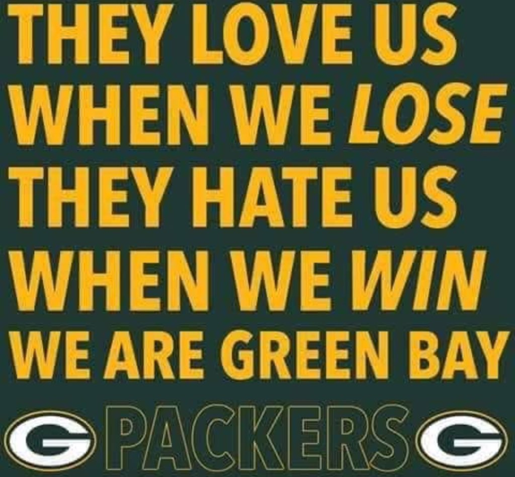 Keep hating...to have haters we must be doing something right lol #GoPackGo <br>http://pic.twitter.com/MAxIijTsIL
