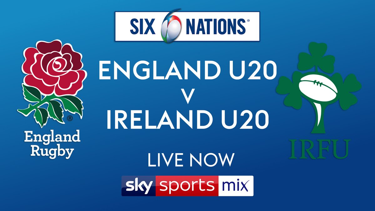 test Twitter Media - 🚨 Live U20 @SixNationsRugby now on @SkySports Mix (Channel 145).  The future of @EnglandRugby 🏴 and @IrishRugby ☘️ go head to head with both teams unbeaten so far.  @JamesGemmell_TV @HarryMal10 @mikemccarthy6 @RupertCoxSKY @WillGreenwood https://t.co/0OapQgpjsb