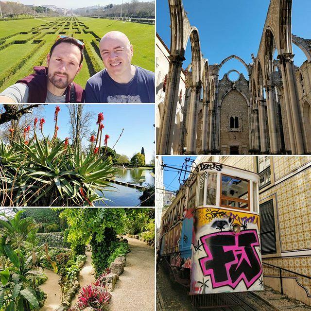 Discovering more of Lisbon : Carmo Convent - Eduardo VII park - Estufa Fria botanic garden. #lisbon #Portugal #city #carmo #conventodocarmo #church #tram #lisbontram #botanicalgardens #botanic #flowers #selfie #parqueeduardovii #Twitter #partage