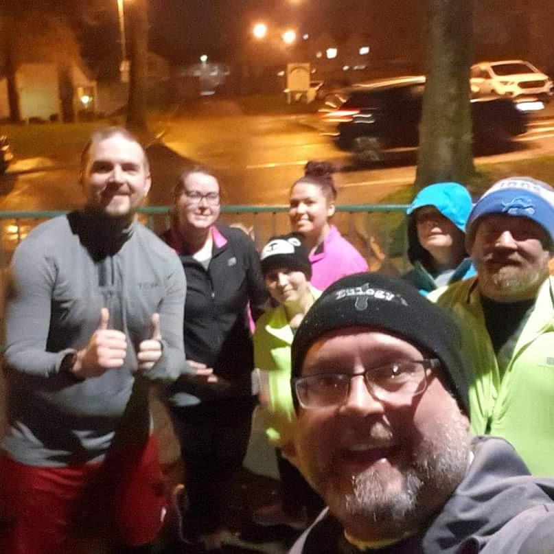 Friday night running with some of our new beginners. All done amazing especially as it was slightly longer than planned 🙈 see you all monday 🏃♀️🏃♂️ #running #stepbystep #fitness #bettermentalhealth