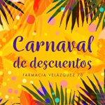 Image for the Tweet beginning: 🎭Celebra un #Carnaval lleno de