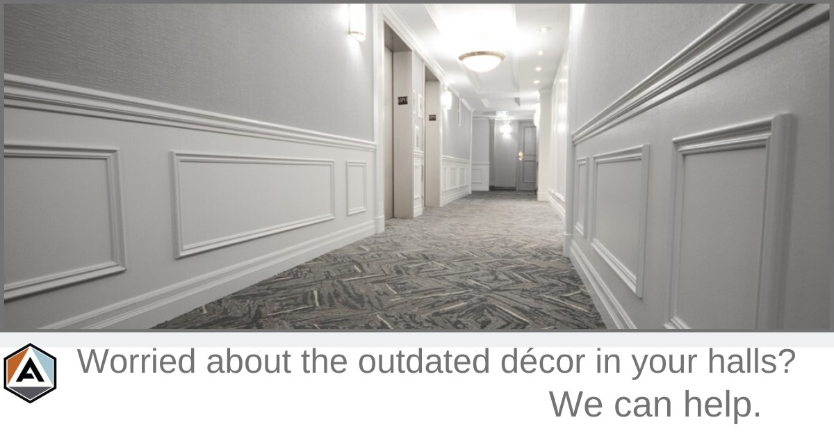 Want a fresh new look to you hallways? Contact us so we can help. 905-637-7999  #renovation #flooring #installation #flooringdesign #remodeling #tiles #wallcovering #interiordesign #renovation #design #condopic.twitter.com/Yhwyq3Jmvs