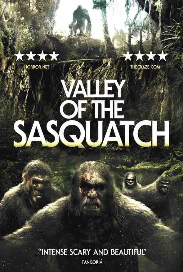 What a load of old nonsense Valley of the Sasquatch is,why am I taken in by cover art & random star ratings? It's anough to make a #Cryptozoologist cry #NowWatching #HorrorMovies #FridayMood Bigfoot makes as many appearances as #BorisJohnson does when someone shouts 'flood!'pic.twitter.com/kNE30CZcnm