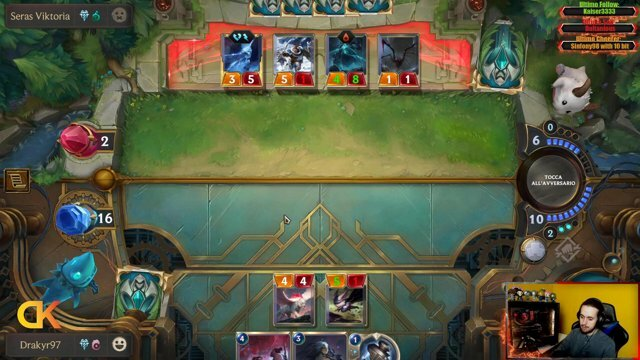 Siamo live! Oggi si gioca a Legends of Runeterra Unisciti alla diretta!  #LegendsOfRuneterra #Cards #LoL #Streaming #Twitch #Competitive #Hype #Intrattenimento #Live #Gamer