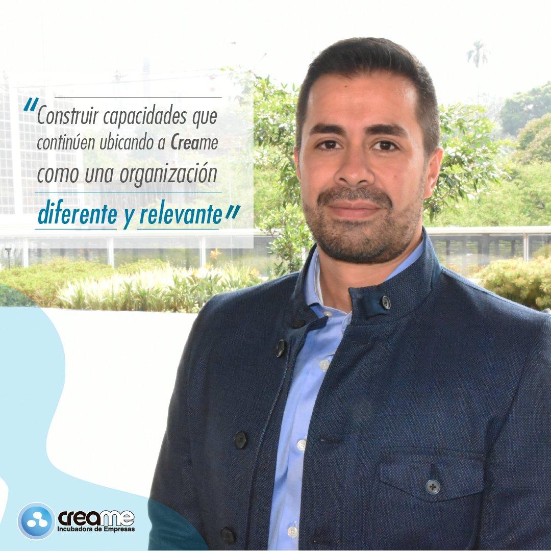 La Junta Directiva de Creame ha nombrado a Juan Manuel Higuita Palacio como el nuevo Director Ejecutivo de la corporación. ¡Bienvenido a la familia Creame! @jhiguita66