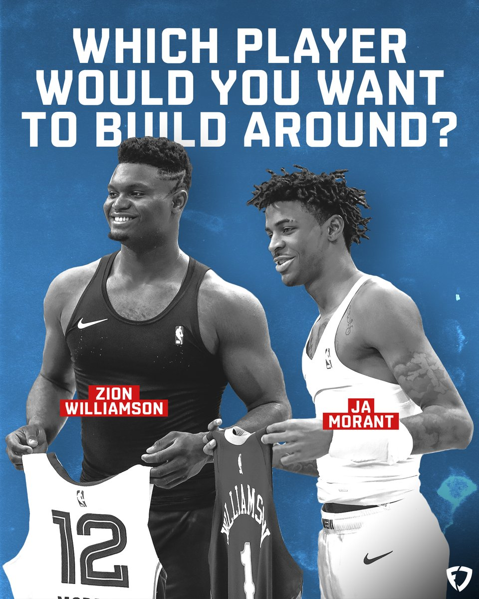 Which young stud would you rather build your franchise around?   RT: Zion Like: Ja