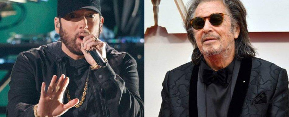 """""""Me encanta Eminem"""": Al Pacino elogia la presentación del rapero en los Oscars 2020 https://bit.ly/32eRoLLpic.twitter.com/xPZIyo2qcA"""
