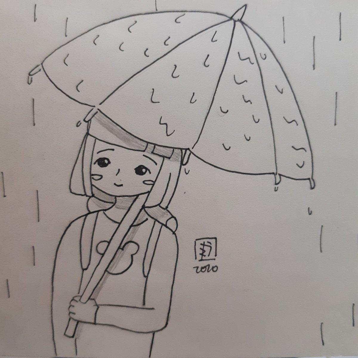 Segundos antes do vento  #drawing #desenho #ink #unipin #nanquim #originalcharacter #oc #dailymoments #dailyart #rain #chuvapic.twitter.com/oLVt5gN27t