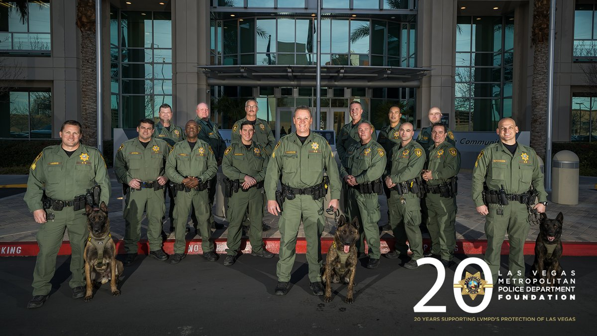 Tonight we honor the @LVMPD K-9 Unit and the Communications Bureau at the Hidden Heroes 2020 Black & White Gala.   Interested in sponsoring a seat for an officer or hidden hero? Click here: http://bit.ly/2SKOGdM
