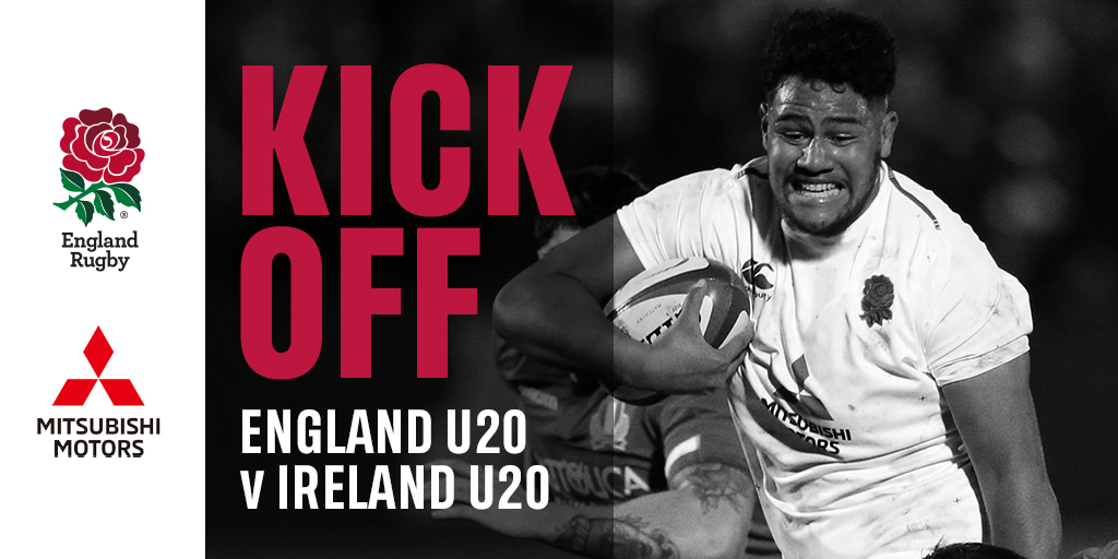 test Twitter Media - Here we go 🌹  Two unbeaten sides in this competition go head-to-head as our U20s take on Ireland at Franklin's Gardens 🏟️  Watch live on @SkySports Mix 📺  #ENGvIRE https://t.co/LuhHDZv8XG