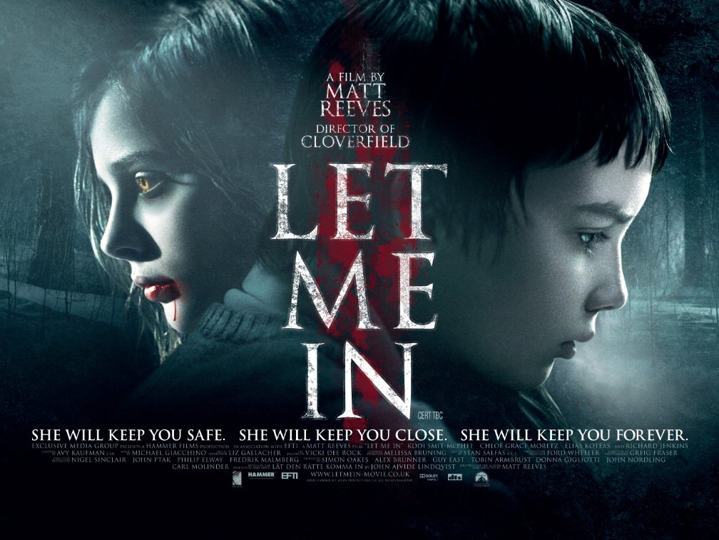 . It's Rob's turn on the porcelain throne this weekend and it's 2010 Scandi remake Let Me in! #film #cinema #HorrorMovies #HorrorFamily #podcastspic.twitter.com/B1KQVpwUbh