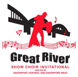 Tomorrow Morning: The South High Street Singers are headed to Davenport, IA to compete in the Great River Show Choir Invitational!   Catch their performance at 1:15pm at the Adler Theater in Davenport. #showchoirlife pic.twitter.com/0t0sQhnAXq