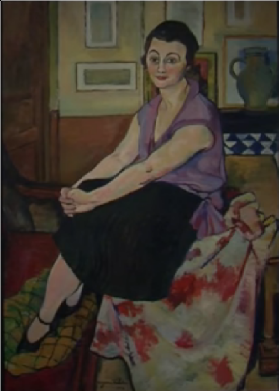 Maria Lani, 1924 #suzannevaladon #valadon