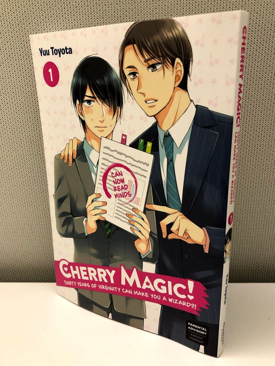 Square Enix Manga Books On Twitter Hot Off The Press Get Ready For Our First Official Bl Title To Be Released On Mar 11 Cherry Magic Thirty Years Of Virginity Can