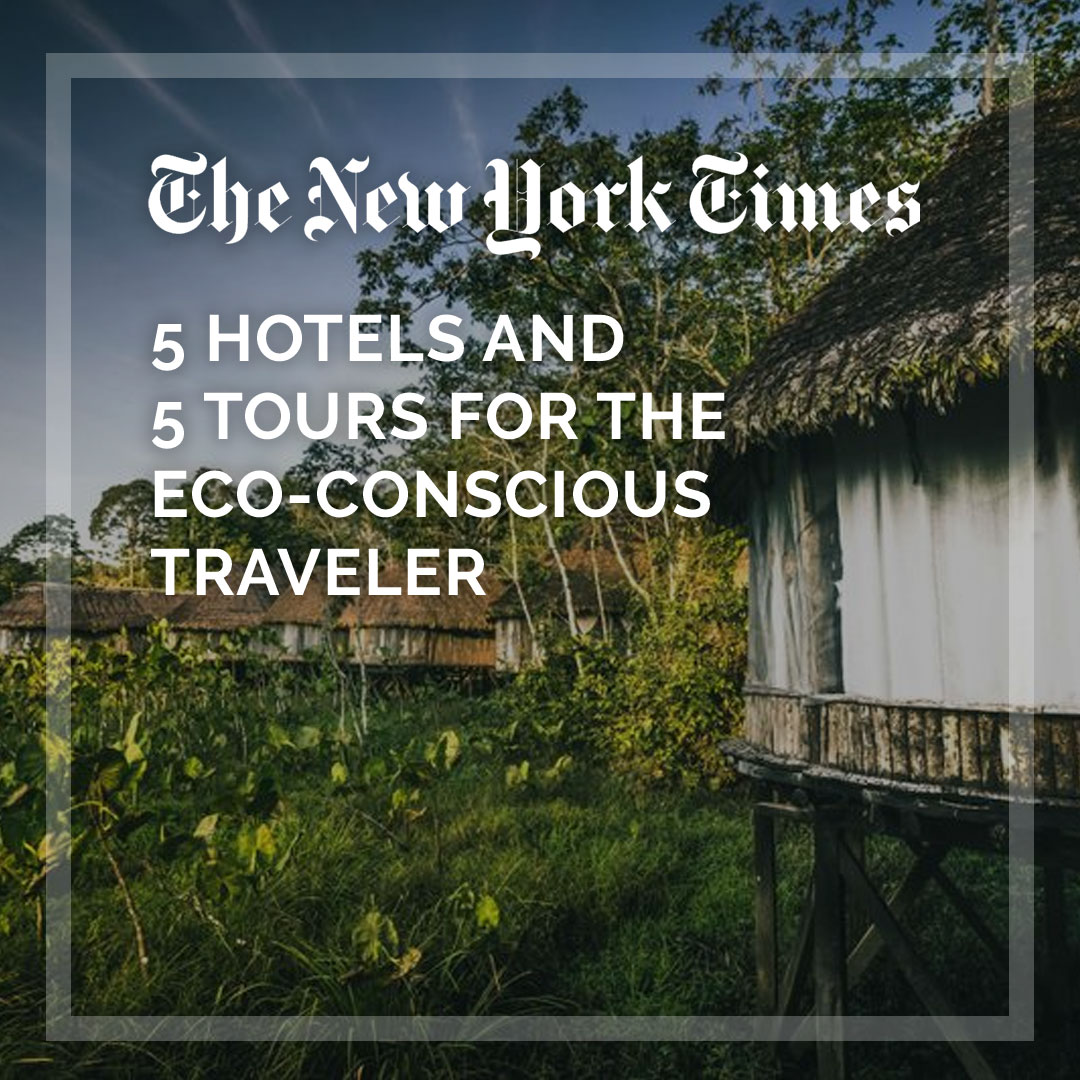 "According to the @nytimes, our #Amazon #ecotour is designed for the ""eco-conscious #traveler"" .-----> https://nyti.ms/2t8IkYV  #travel #ecuador #rainforest #world"