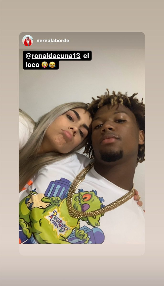 Ronald is wearing a Reptar shirt + chains, just give him the MVP now.