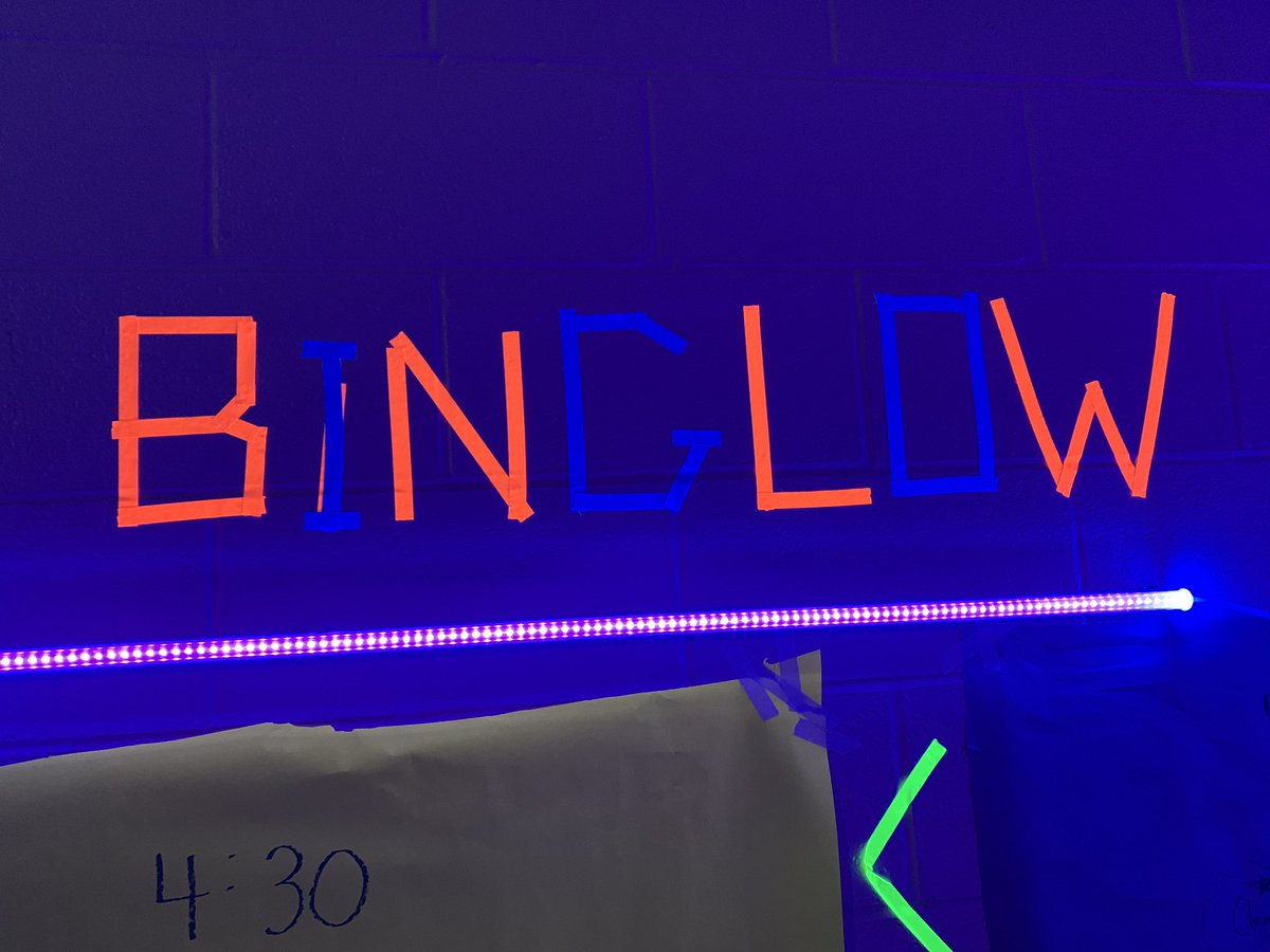 PTO Annual Family Bingo Night upgraded to a BINGLOW Event for 2020!
