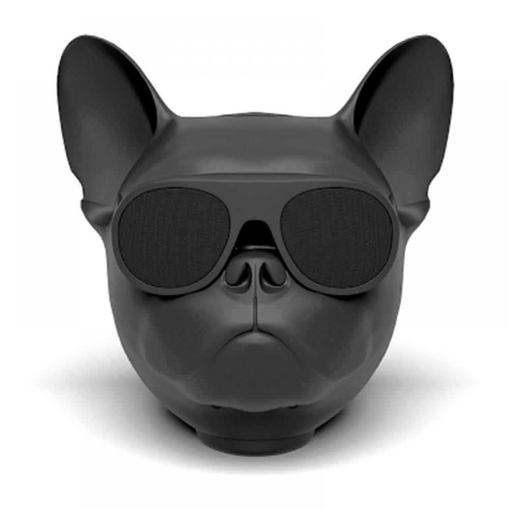 #electronic #electronics Funny Bulldog Shaped Wireless Bluetooth Speaker