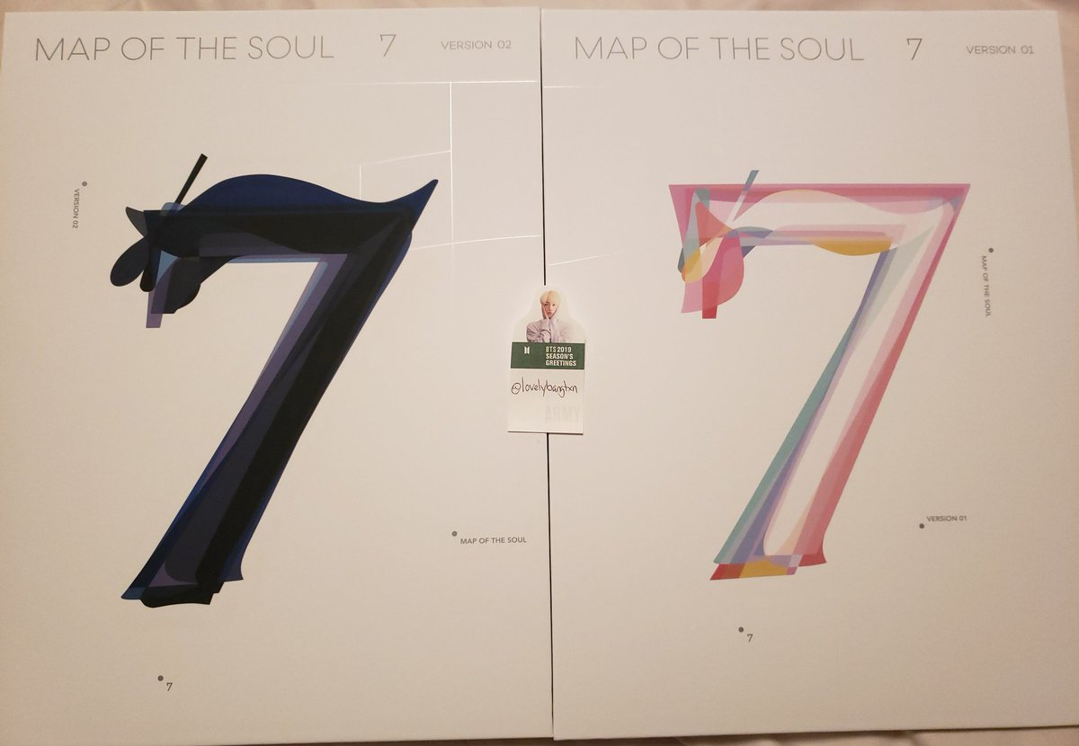 🦢Map of the Soul: 7 Giveaway🦢  Rules: -Retweet this tweet -Follow me  -Reply which version you want (ver 1 or ver 2) -2 Winners (1 album each) -No solo stans or ot2-6 -Open WW  -Closes April 1st  Prize:  -Winner 1 will recieve ver 1 -Winner 2 will recieve ver 2  💜GOODLUCK💜
