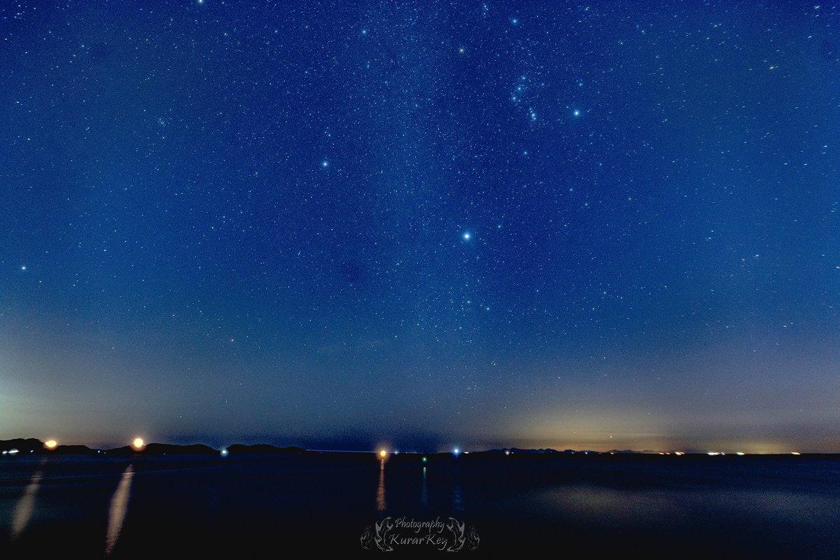 #星景写真 #オリオン座  #冬の大三角形 #日本 #空 #冬 #東京カメラ部 #山口市 #瀬戸内海 #夜 #星空 #ソフトフィルター #StarryPhoto #Japan #Sky #Winter #yamaguchi #Night #StarrySky #orion #winterbigtriangle  #Observatory #SoftFilter #Nikon #sigma #14mm